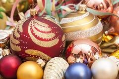 Święta tła balowych ostrego ornamentów białe drzewo Fotografia Royalty Free