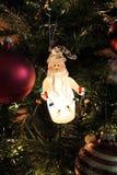 Święta tła balowych ostrego ornamentów białe drzewo Obrazy Royalty Free