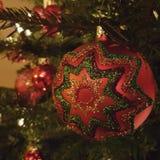 Święta tła blisko czerwony czasu Obrazy Stock