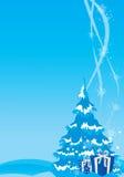 Święta tła ilustracji nowego roku Obraz Stock