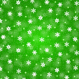 Święta tła odizolowanych płatki śniegu białe Obraz Royalty Free