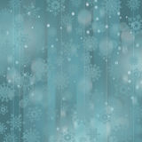 Święta tła odizolowanych płatki śniegu białe Obrazy Stock