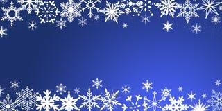 Święta tła odizolowanych płatki śniegu białe Zdjęcia Royalty Free
