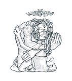 Święta trójca e ilustracja wektor