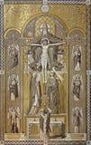 Święta trójca - Missale romanum 1927 zdjęcia stock