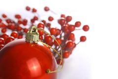 Święta więcej czerwonych Obraz Stock