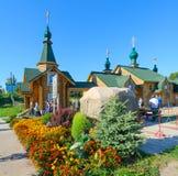 Święta wiosna na cześć ikonę Theotokos czułość, Rosja Zdjęcie Stock