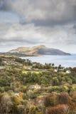 Święta wyspa od Arran w Szkocja obraz royalty free