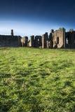 Święta wyspa wybrzeże Northumberland Obrazy Royalty Free