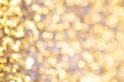 Święta złociste tło Obraz Royalty Free