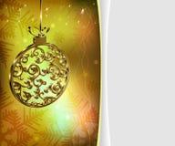 Święta złociste tło Obraz Stock