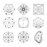 Święte geometrii formy Obrazy Stock