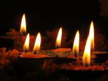 Święte lampy Obraz Royalty Free