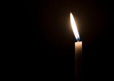 Święte religijne świeczki palić Obraz Royalty Free