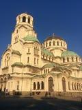Świętego Alexandar Nevski katedra Zdjęcia Stock