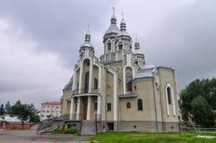 Świętego Andrew kościół - Drohobych, Ukraina obraz royalty free