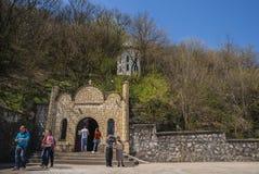 Świętego Andrew monaster w Dobrogea regionie, Rumunia zdjęcia royalty free