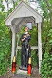 Świętego Anne ` s świątynia, wyspy la motte, Uroczysty wyspa okręg administracyjny, Vermont, Stany Zjednoczone USA Jeziorny Champ Obrazy Stock