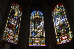 Świętego Antoine kościół, Compiegne, Oise, Francja obrazy stock