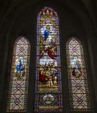 Świętego Antoine kościół, Compiegne, Oise, Francja fotografia stock