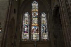 Świętego Antoine kościół, Compiegne, Oise, Francja zdjęcie stock