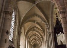 Świętego Antoine kościół, Compiegne, Oise, Francja obraz royalty free