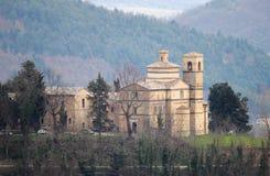 Świętego Bernardino kościół w Urbino Obraz Royalty Free
