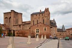 Świętego Cecile kościół w mieście Albi, Francja Zdjęcie Royalty Free