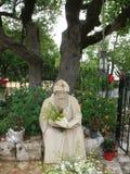 Świętego Charbel statua obrazy royalty free