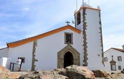 Świętego ducha kościół i skały obraz royalty free