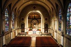 Świętego ducha kościół, opatrzność, Rhode - wyspa Zdjęcie Stock