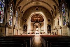 Świętego ducha kościół, opatrzność, Rhode - wyspa Obraz Stock