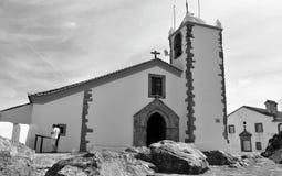 Świętego ducha kościół w czarny i biały zdjęcia stock