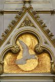 Świętego ducha ptak fotografia stock