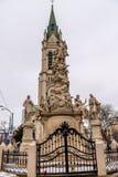 Świętego Florian statuy afront Blumental kościół Zdjęcie Stock
