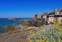 świętego fortu obywatel w Brittany obraz stock