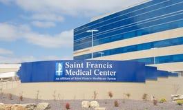 Świętego Francis centrum medycznego podwórze Fotografia Royalty Free