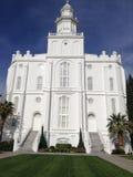 Świętego George LDS świątynia zdjęcia royalty free