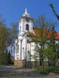 Świętego Gothard kościół, Środkowa cyganeria, republika czech fotografia royalty free