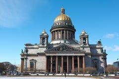 Świętego Isaac katedra Zdjęcie Royalty Free