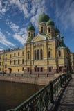 Świętego Isidor's kościół, święty Petersburg obrazy stock