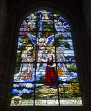 Świętego Jacques kościół, Compiegne, Oise, Francja Obrazy Royalty Free