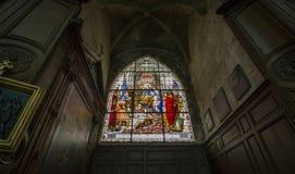 Świętego Jacques kościół, Compiegne, Oise, Francja Obrazy Stock