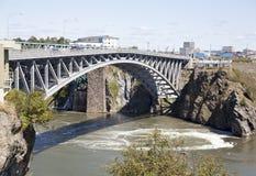 Świętego John miasteczka most fotografia stock