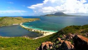 Świętego Kitts plaży krajobraz zdjęcie wideo