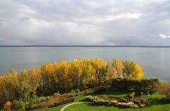 Świętego Lawrance rzeka w jesieni Obraz Royalty Free