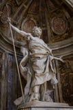 Świętego Longinus statua zdjęcia royalty free