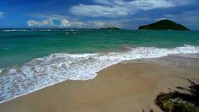 Świętego Lucia plaży krajobraz zdjęcie wideo