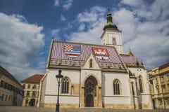 Świętego Mark kościół Obrazy Stock