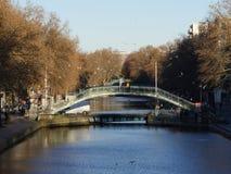 Świętego Martin kanał w ranku Zdjęcie Royalty Free